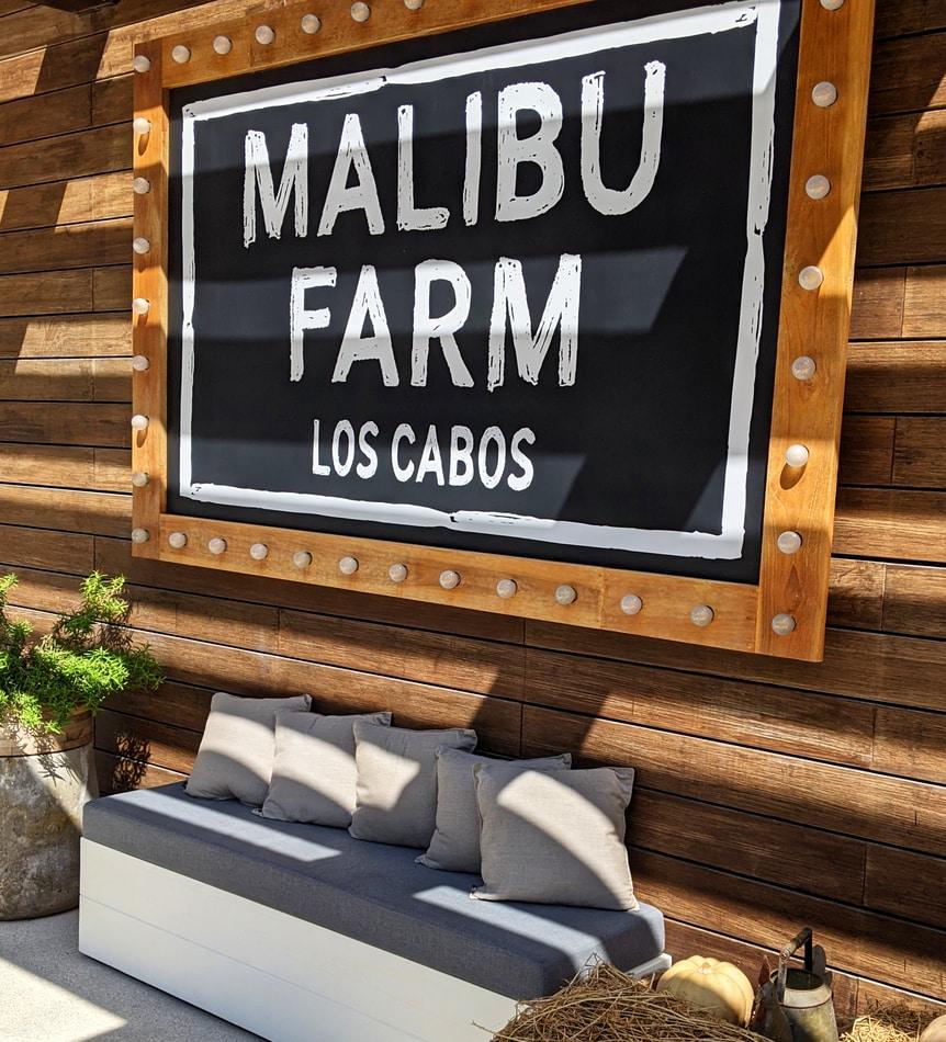 Top restaurantes en Los Cabos - Malibu Farm