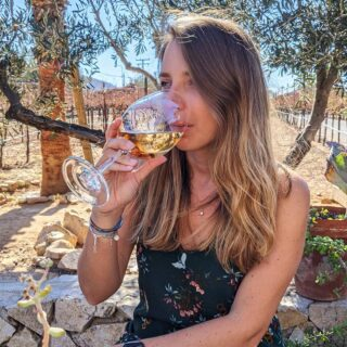 It's wine o'clock in Valle de Guadalupe . . . #wine #winelover #winetasting #winetime #winery #lechuzavineyard #wineoclock #wineporn #vino