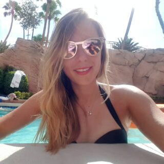 Look for the magic in every moment . . . #magic #moment #vegas #nevada #summer #sunglasses #bikini