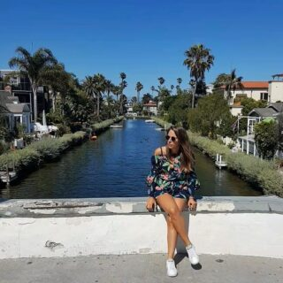 Venice canals, a hidden oasis! . . . #venice #canals #losangeles #oasis #luxury #palms #water #daytrip